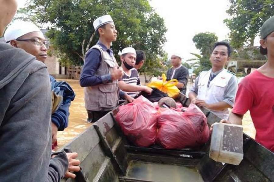 Meskipun Rekening Diblokir Eks Anggota FPI Patungan Bantu Korban Bencana