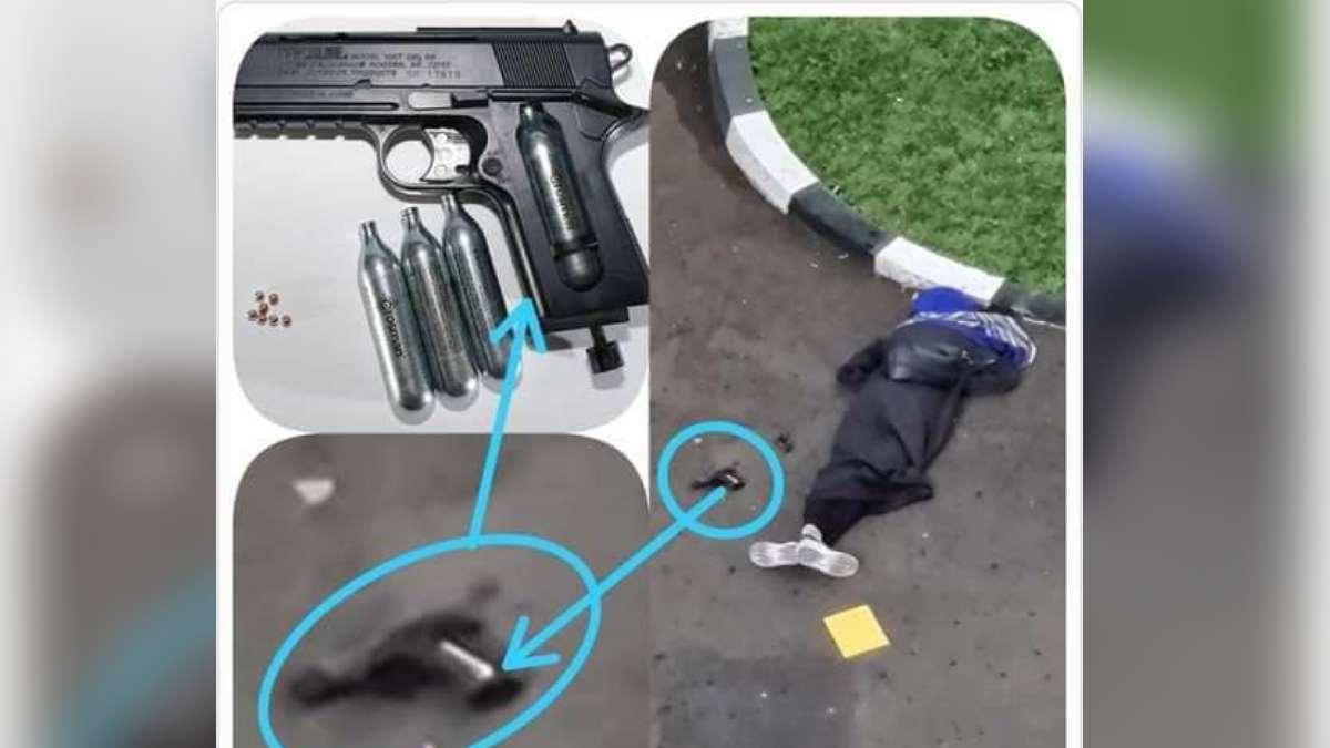 ZA, Perempuan Penyerang Mabes Polri Diduga Memakai Airgun