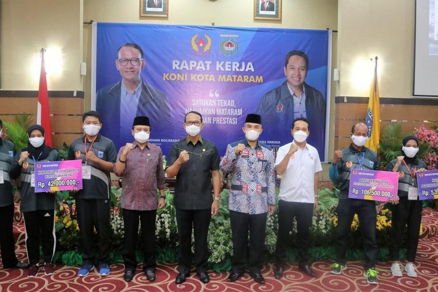 Meski Pandemi, Mohan Pasang Target Tinggi Untuk Olahraga Kota Mataram