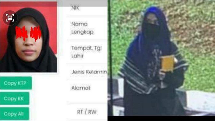 Zakiah, Penyerang Mabes Polri Mahasiswi DO Semester Lima