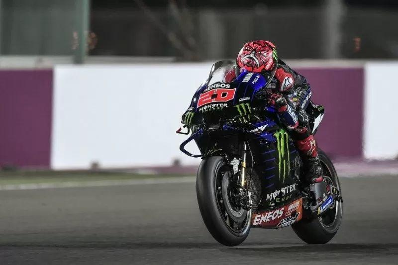 Tes Pramusim MotoGP Qatar Hari Kedua Fabio Quartararo Tercepat