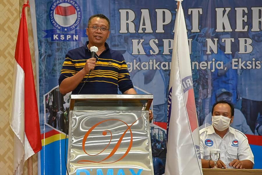 Rakerwil FKSPN NTB, Gubernur Minta Rangkul Ide-Ide Kecil