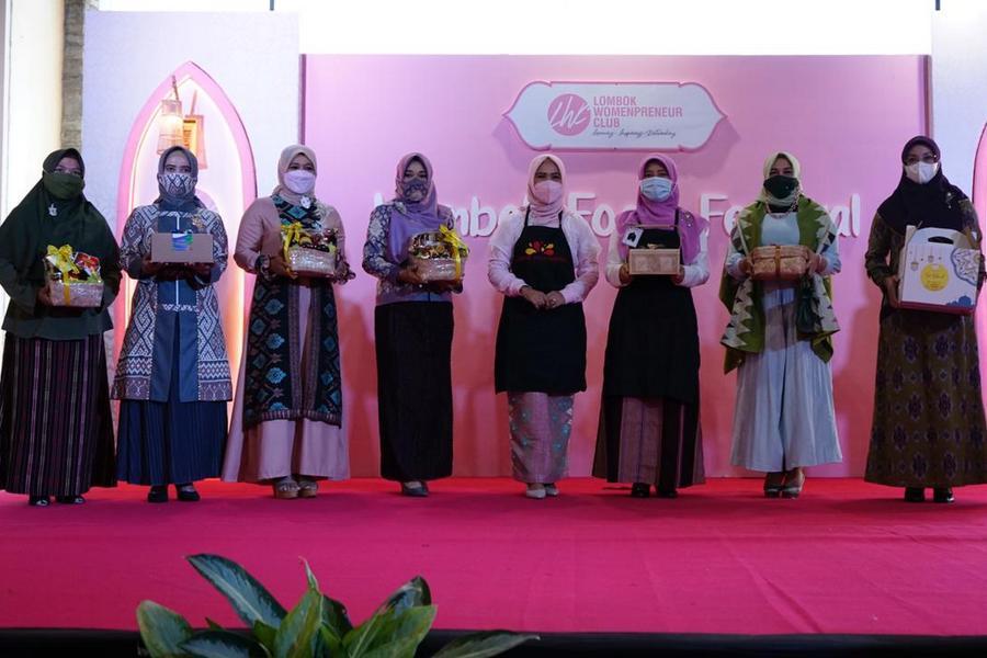 Buka Lombok Food Festival, Bunda Niken Dorong Semangat Enterpreneur Perempuan