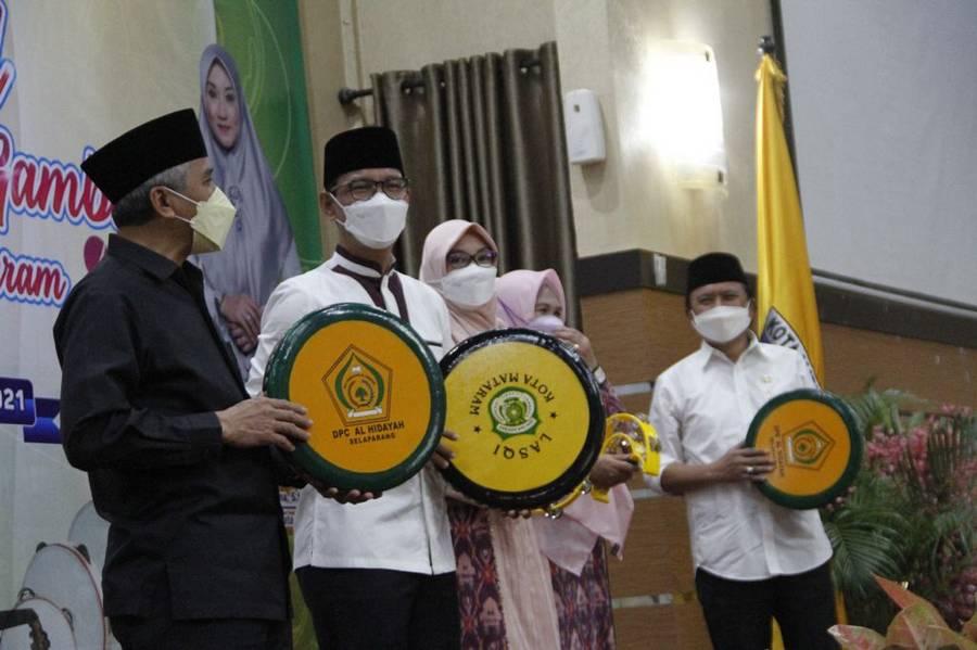 Festival Bintang Vokalis Gambus Tingkat Kota Mataram 2021 Resmi Dibuka Walikota