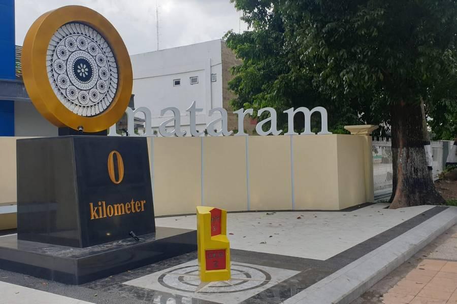 Sedikit yang tau, Inilah Titik Nol Kilometer Kota Mataram yang Baru Diresmikan