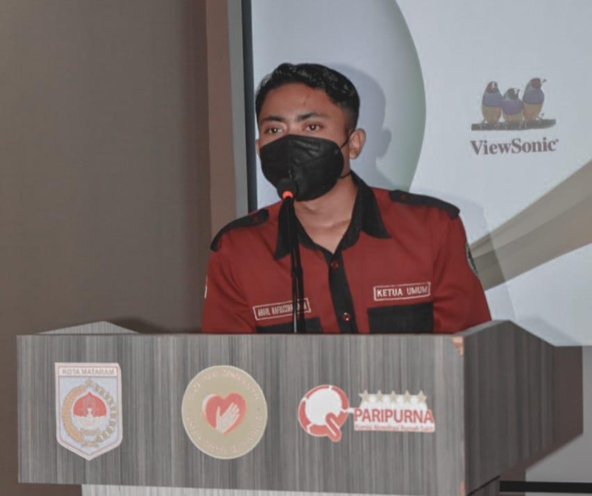 Ketum ISMAKES Kota Mataram Ajak Para Pimpinan Mahasiswa Kesehatan Agar Semakin Bersatu