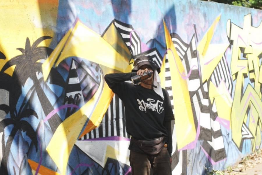 Lombok Ikut Terlibat di Event Graffiti Skala Nasional