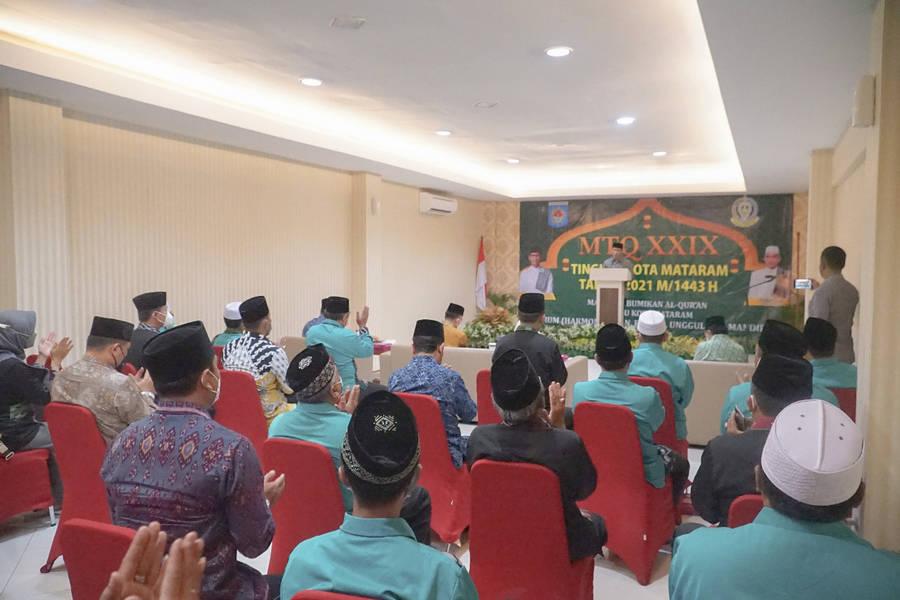 Pelaksanaan MTQ ke XXIX Tingkat Kota Mataram Resmi Dibuka Oleh Walikota