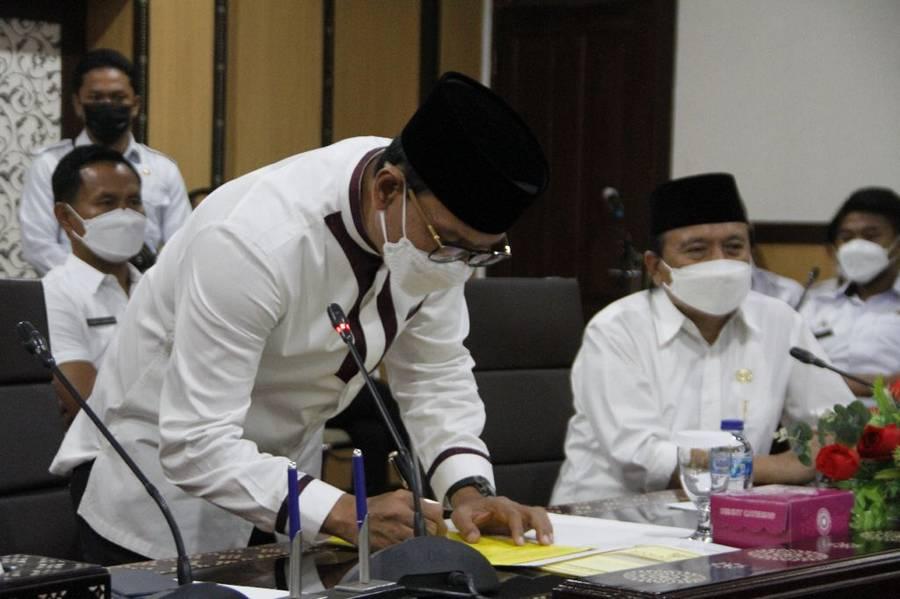 Walikota Tandatangani Kesepakatan Bersama dengan Universitas Muhammadiyah Mataram