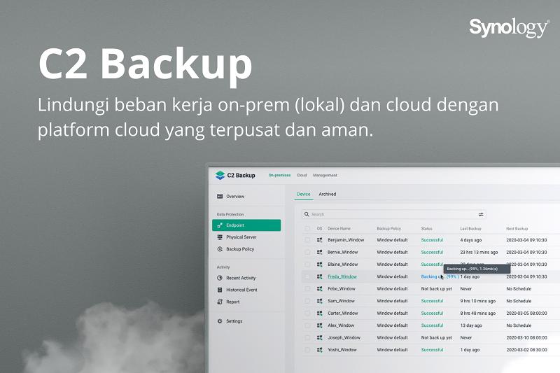 Cara Backup Cloud untuk Windows di Rumah dan Kantor dalam Satu Portal