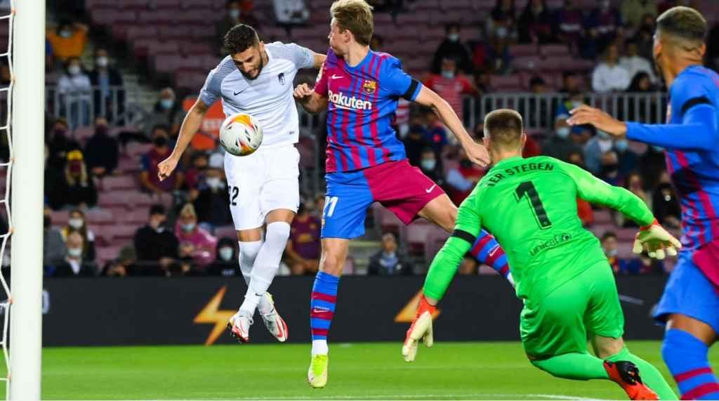 Hasil Barcelona vs Granada: Blaugrana Selalu Kebobolan Gol di Bawah 2 Menit Lawan Nazaríes