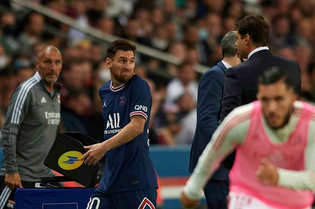 Pochettino Bantah Terlibat Friksi Dengan Messi Saat PSG Hadapi Lyon