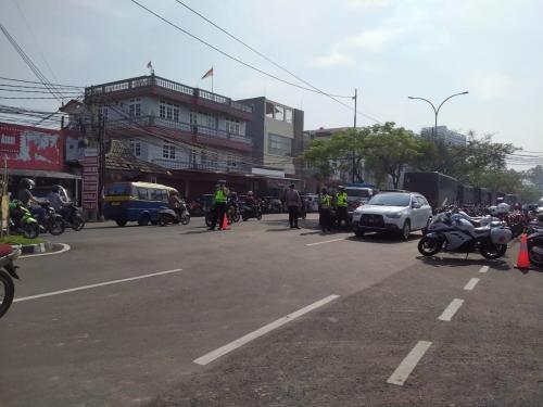 Puluhan Polisi Jaga Ketat TKP Kebakaran Lapas Tangerang