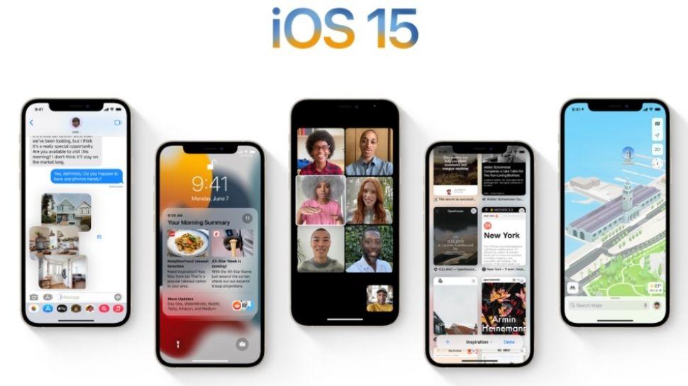 Setelah Update ke iOS 15 iPhone Alami Bug