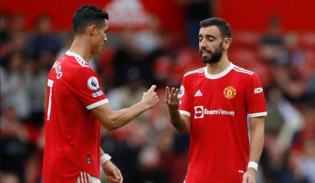Solskjaer Isyaratkan Fernandes Tetap Eksekutor Penalti Man Utd, Bukan Ronaldo