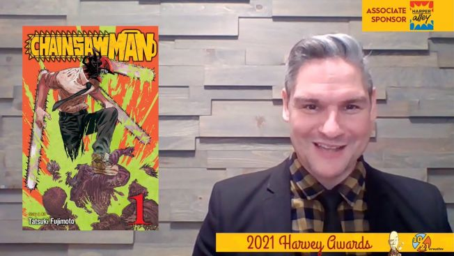 Chainsaw Man Memenangkan Kategori Manga Terbaik Harvey Awards 2021